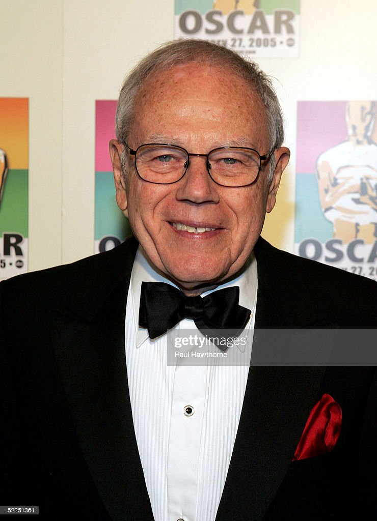 Composer Sid Ramin attends the official New York celebration of the Academy Awards at Gabriel's February 27, 2005 in New York City.