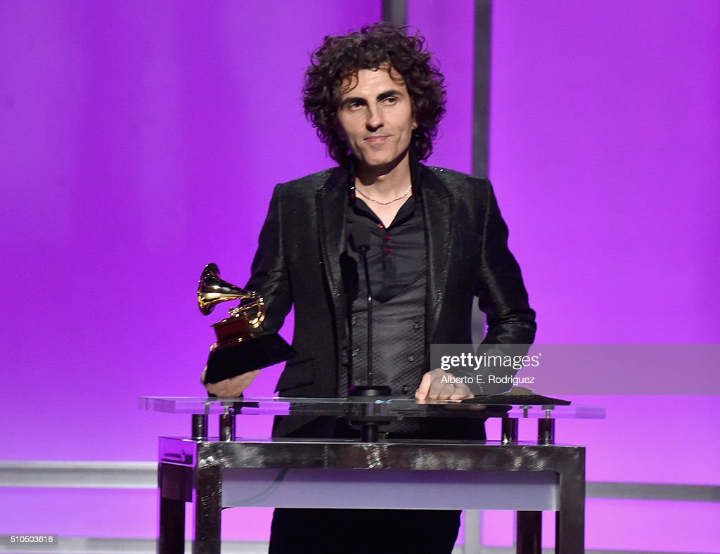 Composer Stephan Moccio onstage during the GRAMMY Pre-Telecast at The 58th GRAMMY Awards at Microsoft Theater on February 15, 2016 in Los Angeles, California.