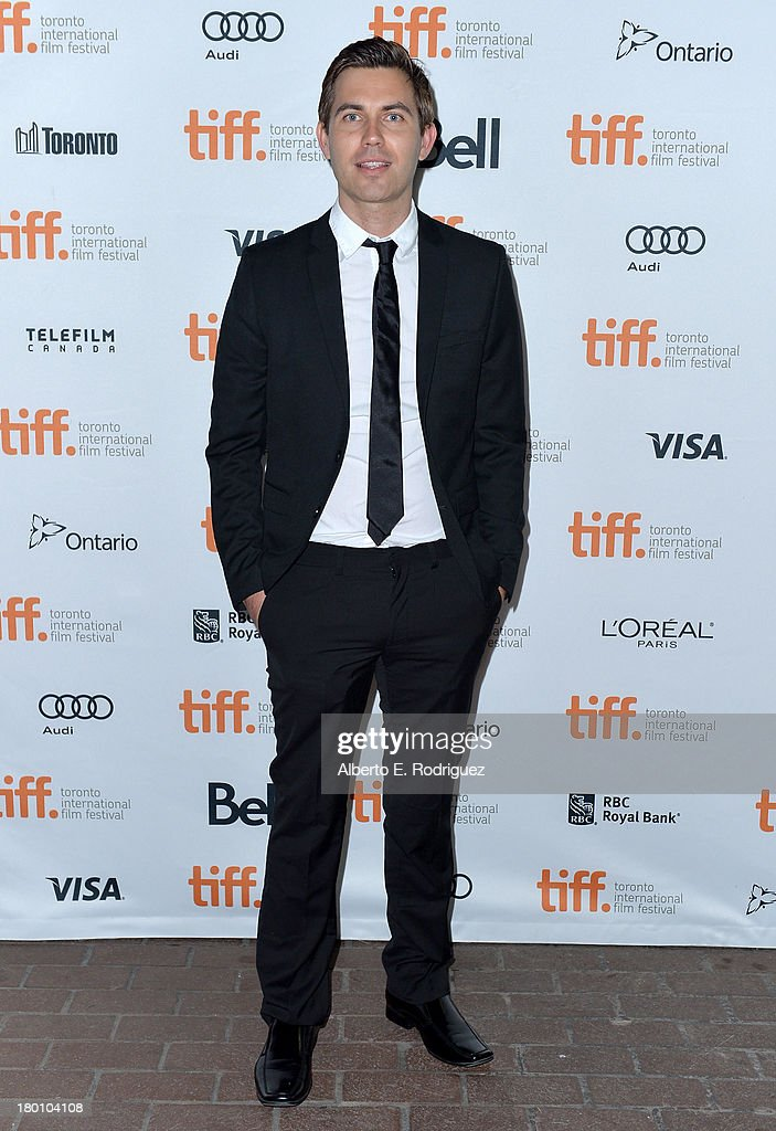 Composer Taylor Stewart attends the 'Oculus' premiere during the 2013 Toronto International Film Festival at Ryerson Theatre on September 8, 2013 in Toronto, Canada.