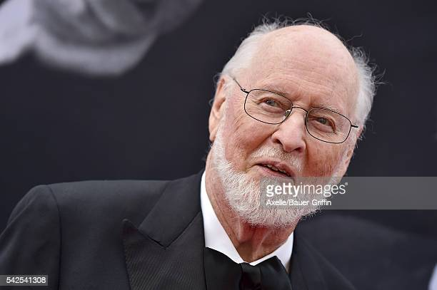 Composer/honoree John Williams arrives at the 44th AFI Life Achievement Awards Gala Tribute to John Williams at Dolby Theatre on June 9 2016 in...