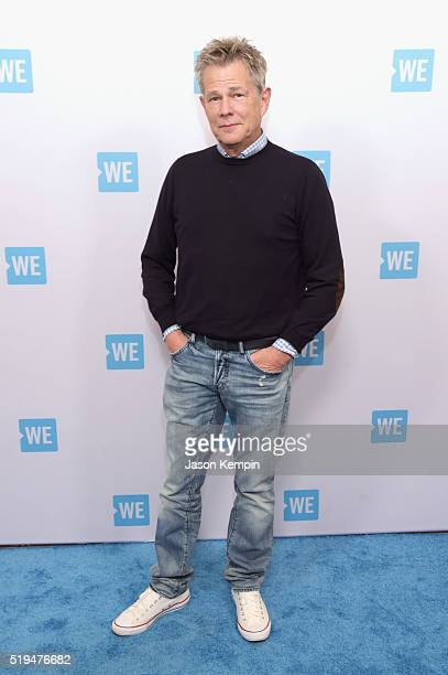 Composer/music producer David Foster attends the WE Day Celebration Dinner at The Beverly Hilton Hotel on April 6 2016 in Beverly Hills California
