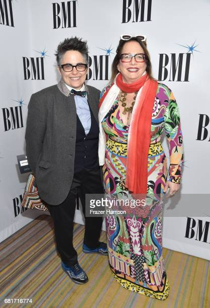 Composers Nora KrollRosenbaum and Laura Karpman at the 2017 Broadcast Music Inc Film TV Visual Media Awards at the Beverly Wilshire Hotel on May 10...