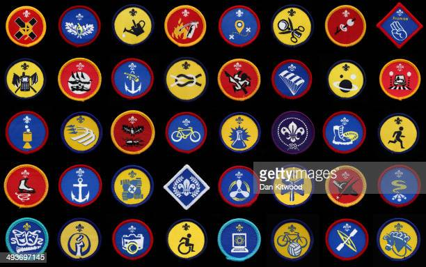 A composite image of a selection of the Scout Organization's badges on May 15 2014 in London England The Scout Movement have recently announced a...