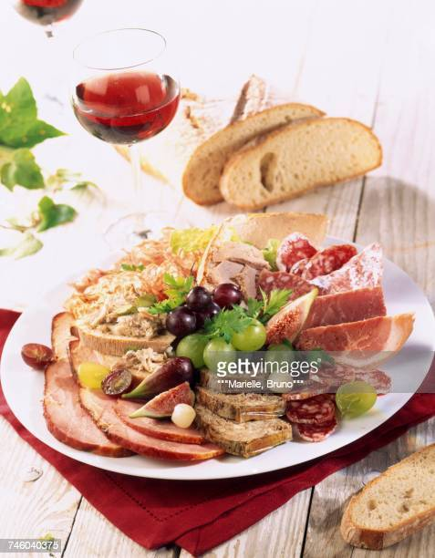 Composition of cooked meats
