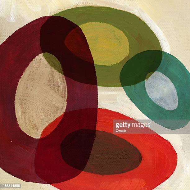 Composition with ovals