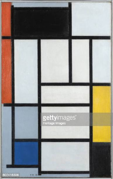 Composition with Red Black Yellow and Blue 1921 Found in the collection of Gemeentemuseum Den Haag