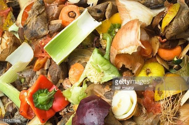 Kompost Haufen