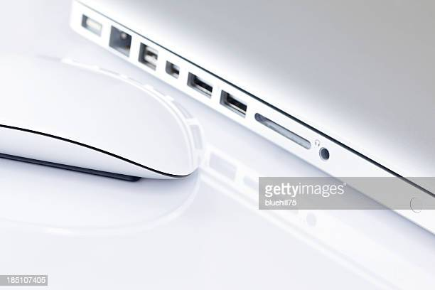 computer and mouse