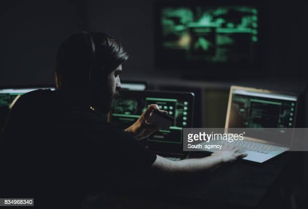 Criminalité informatique en action