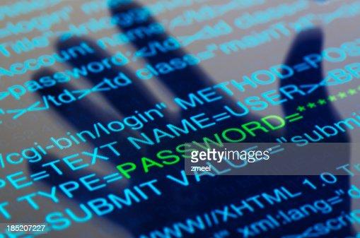 Computer crime : Stock Photo