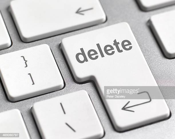 Computer delete key