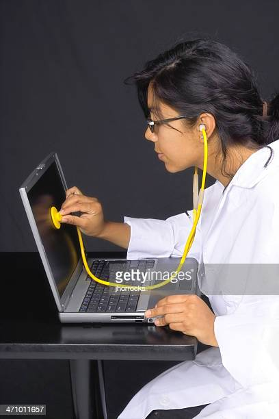 Computer Doctor At Work