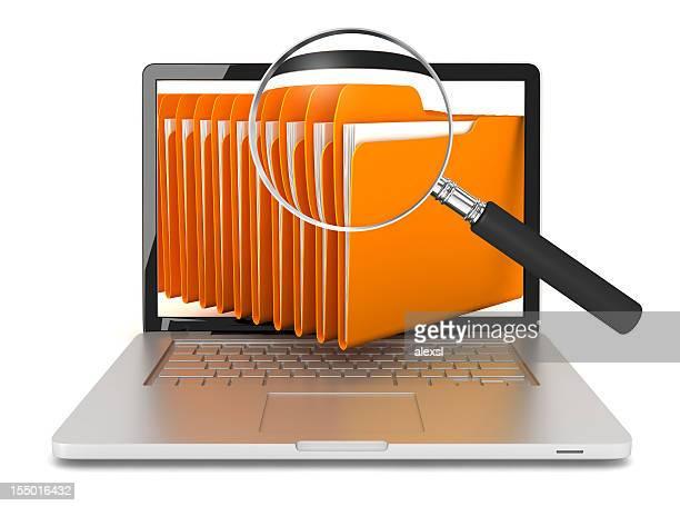 Computer-Datei suchen
