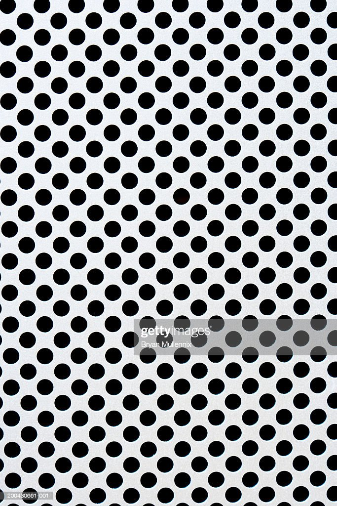 Computer grille, full frame : Stock Photo