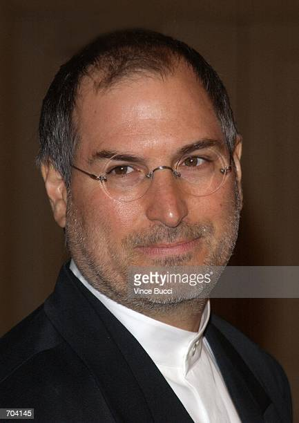 Computer guru Steve Jobs attends the 13th Annual Producers Guild Awards March 3 2002 in Los Angeles CA