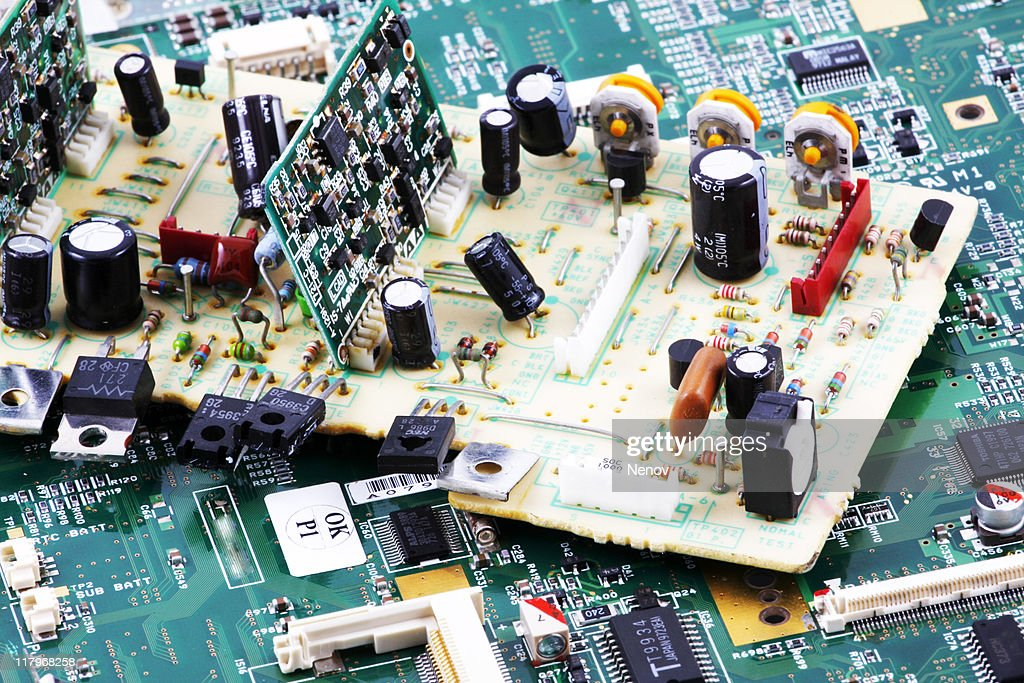 Computer hardware and components : Stock Photo