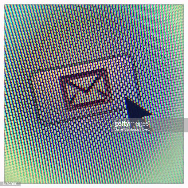 Computer Icon And Arrow
