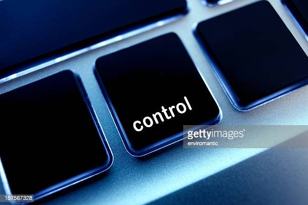 Computer laptop keypad 'control' button.