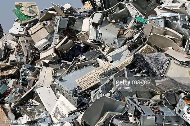 Computer, metal and iron dump # 11