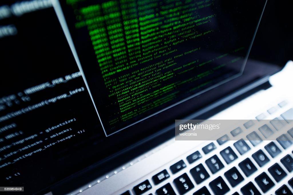 Computer Programming : Stock Photo