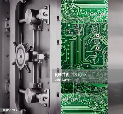 Computer Security : Stock Photo