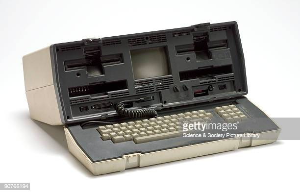 Computer system including computer and modem made by Osborne Computer Corporation USA