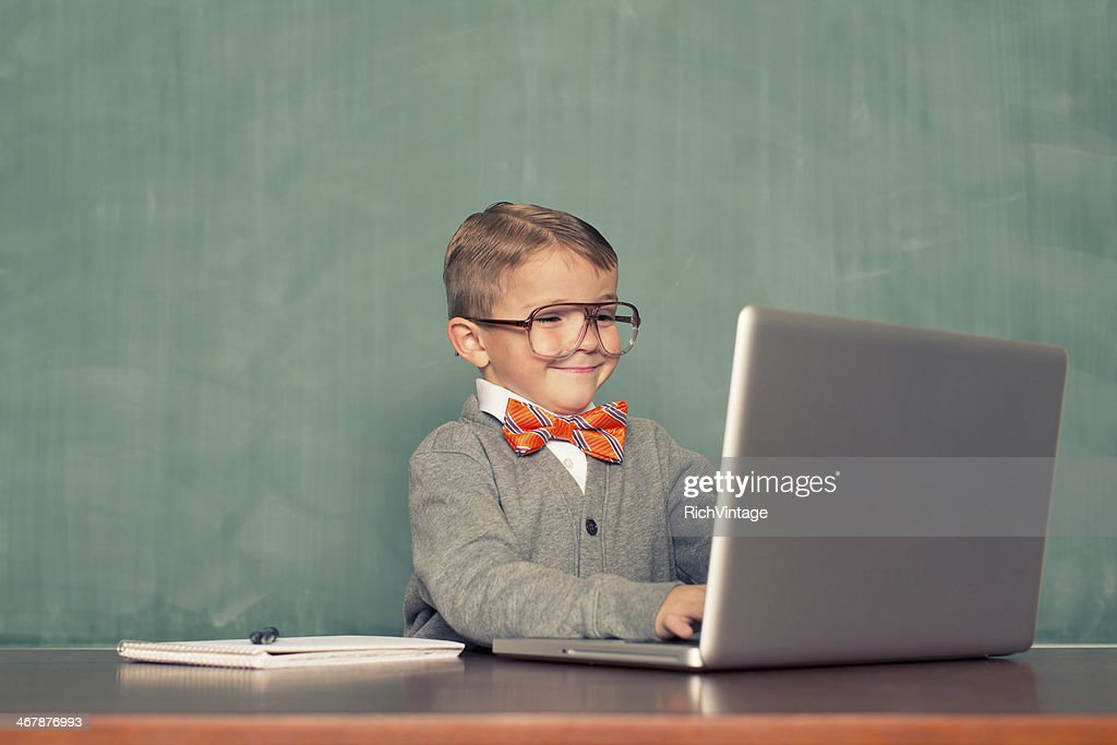 Computer Time : Stock Photo