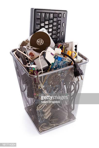 computer Müll bin