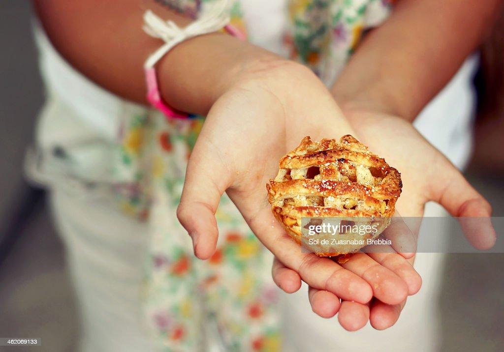 Con mis propias manos : Stock Photo