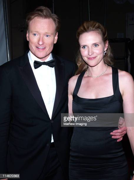 Conan O'Brien and guest during 58th Annual Primetime Emmy Awards Governors Ball at The Shrine Auditorium in Los Angeles California United States