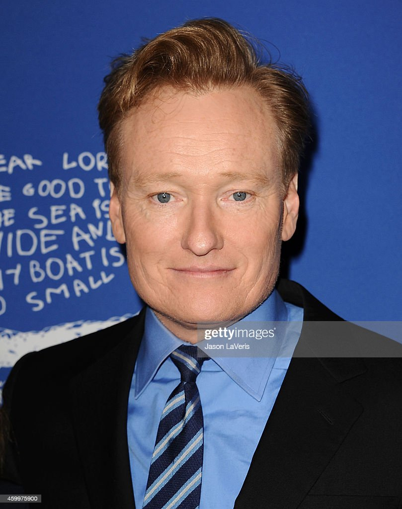 <a gi-track='captionPersonalityLinkClicked' href=/galleries/search?phrase=Conan+O%27Brien&family=editorial&specificpeople=208095 ng-click='$event.stopPropagation()'>Conan O'Brien</a> attends Children's Defense Fund's 24th annual Beat The Odds Awards at The Book Bindery on December 4, 2014 in Culver City, California.