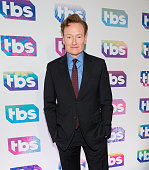 Conan O'Brien attends TBS's 'A Night Out with Conan O'Brien Rashida Jones Samantha Bee and Jason Jones' at The New Museum on May 17 2016 in New York...