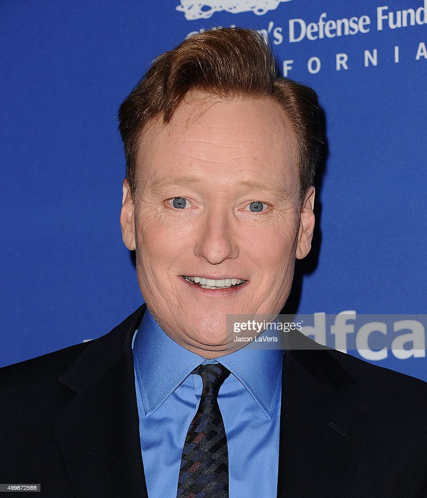 <a gi-track='captionPersonalityLinkClicked' href=/galleries/search?phrase=Conan+O%27Brien&family=editorial&specificpeople=208095 ng-click='$event.stopPropagation()'>Conan O'Brien</a> attends the 25th annual Children's Defense Fund Beat The Odds Awards at the Beverly Wilshire Four Seasons Hotel on December 3, 2015 in Beverly Hills, California.