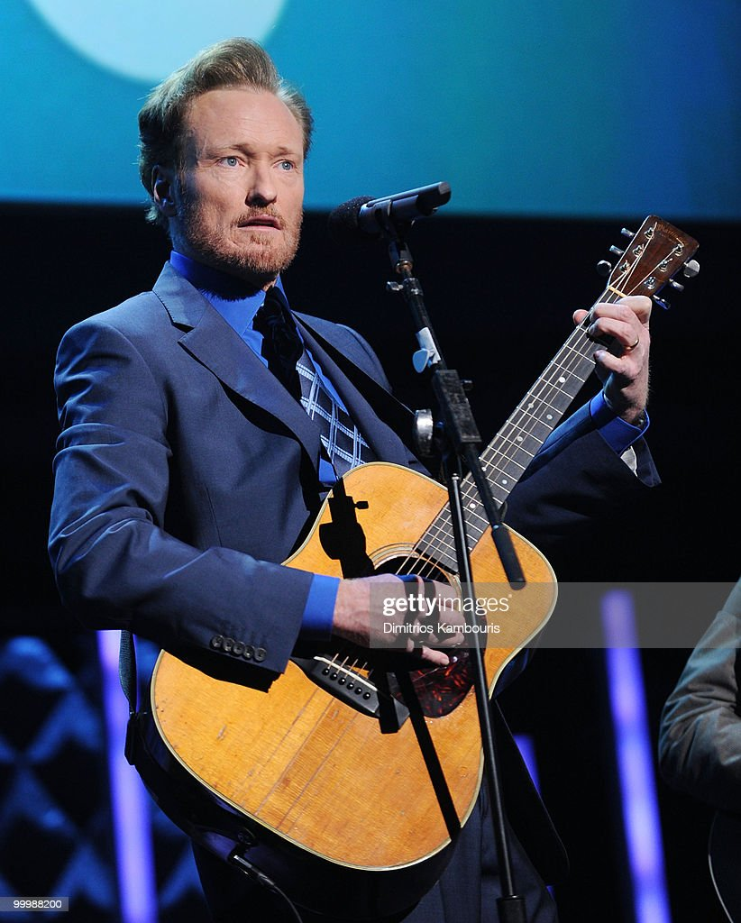 Conan O'Brien performs at the TEN Upfront presentation at Hammerstein Ballroom on May 19, 2010 in New York City. 19688_002_0932.JPG