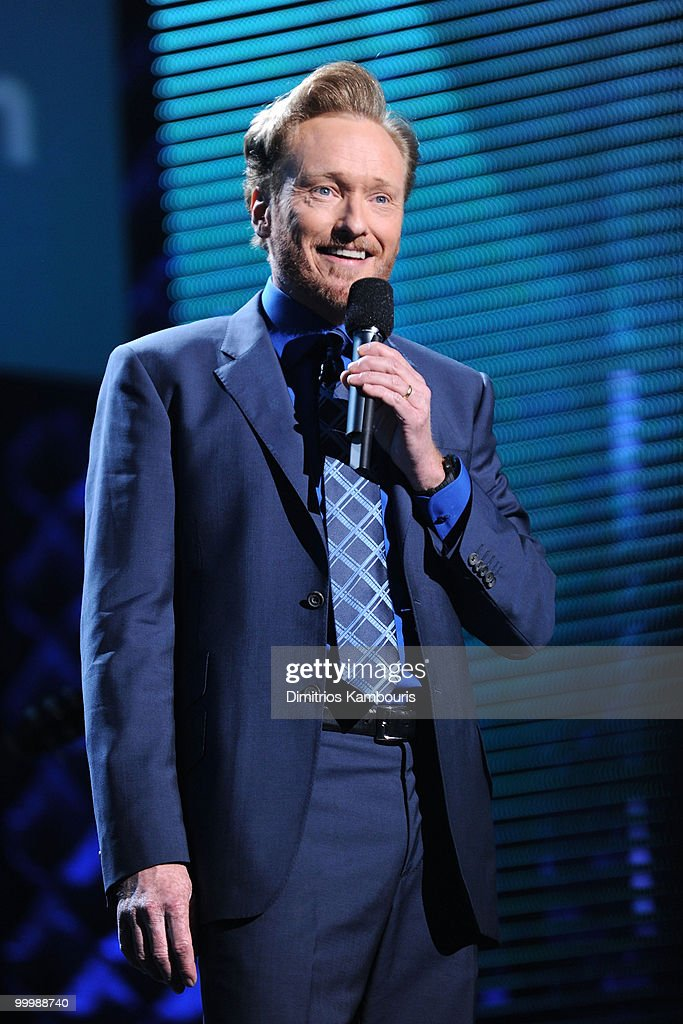 Conan O'Brien performs at the TEN Upfront presentation at Hammerstein Ballroom on May 19, 2010 in New York City. 19688_002_0861.JPG
