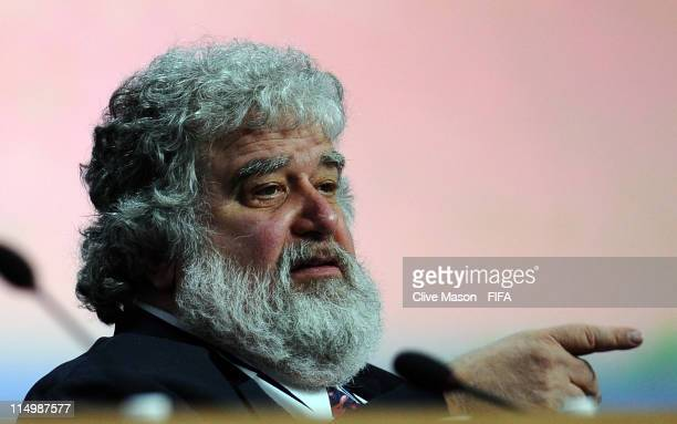 Concacaf General Secretary Chuck Blazer during the 61st FIFA Congress at Hallenstadion on June 1 2011 in Zurich Switzerland