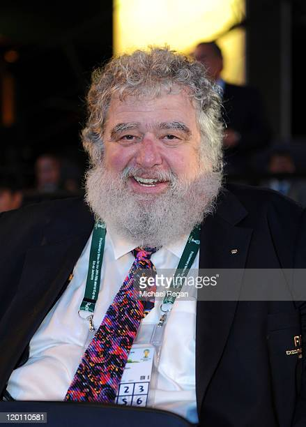 Concacaf general secretary Chuck Blazer during the Preliminary Draw of the 2014 FIFA World Cup at Marina Da Gloria on July 30 2011 in Rio de Janeiro...