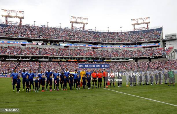 Concacaf Gold Cup Usa 2017 / Stadium and Venues Preview Set Nissan Stadium Nashville / Tennessee