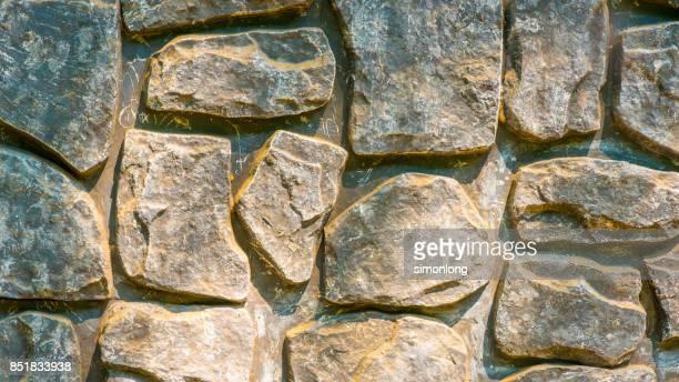 Concave-convex Stone Wall