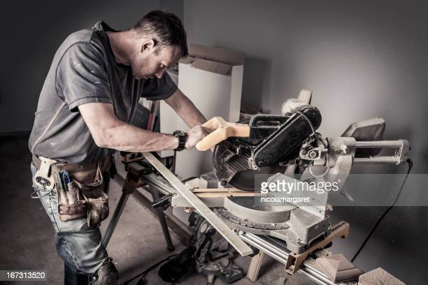 Concentration:  Carpenter at work