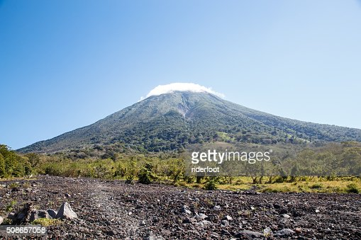 Concepcion Volcano View, Ometepe, Nicaragua : Stock Photo