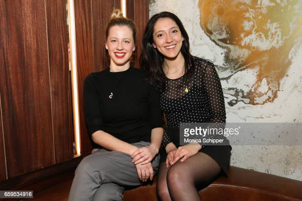 Concept and design developers Sugar East Eliza Liepina and Laura MuellerSoppart attend the Sugar East Grand Opening on March 28 2017 in New York City