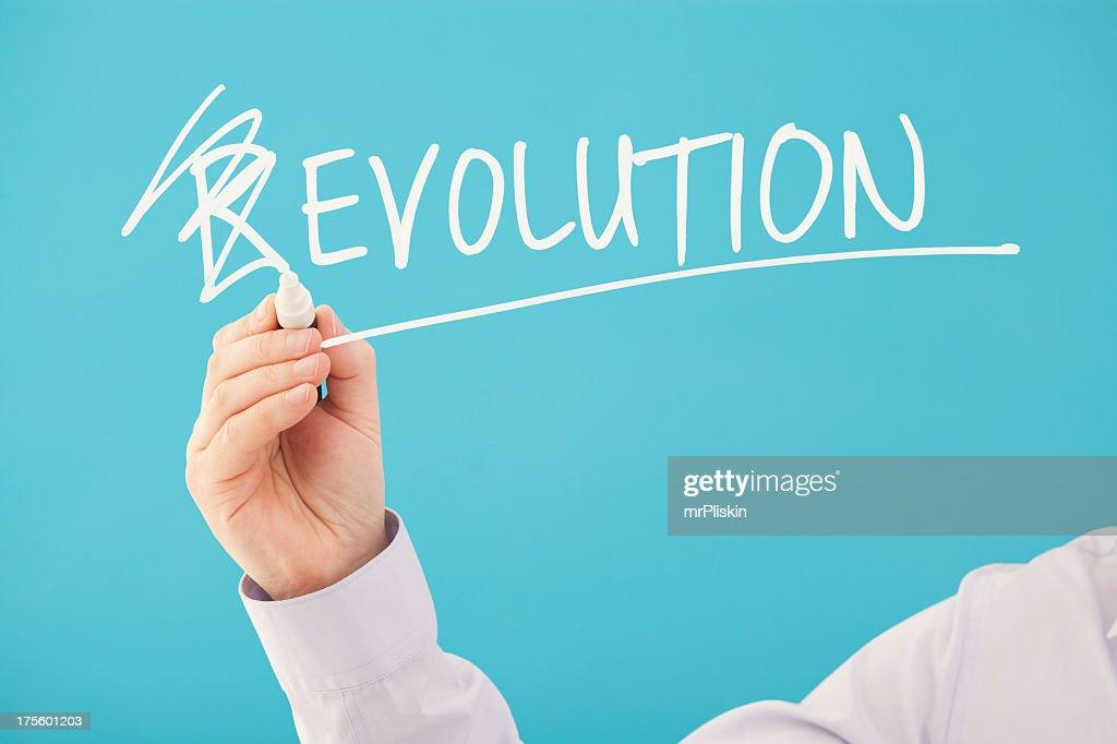 A concept design for 'Evolution, Not Revolution'