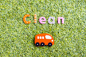 Concept of clean fuel and eco friendly cars