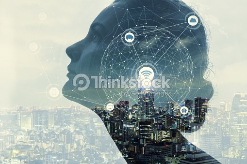 AI(Artificial Intelligence) concept. : Stock Photo