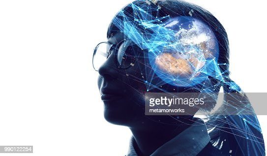 AI (Artificial Intelligence) concept. : Stock Photo