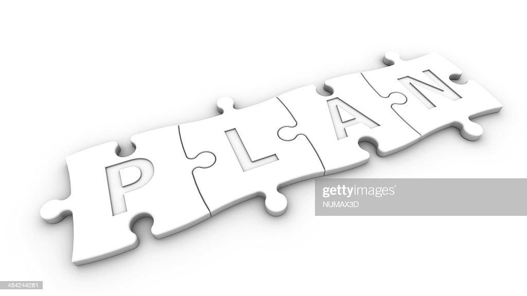 concept plan : Stock Photo
