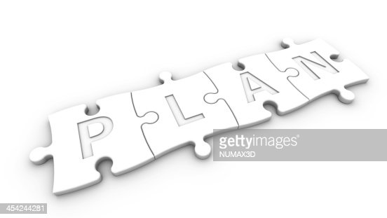 concept plan : Stock Photo