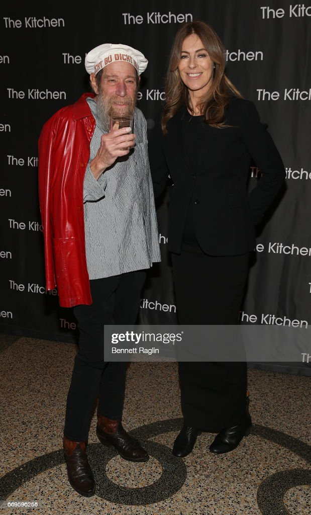 Conceptual artist Lawrence Weiner and director Kathryn Bigelow attend The Kitchen's Spring Gala 2017 at Hammerstein Ballroom on April 17, 2017 in New York City.