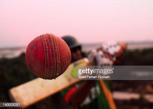 Conceptual cricket shot
